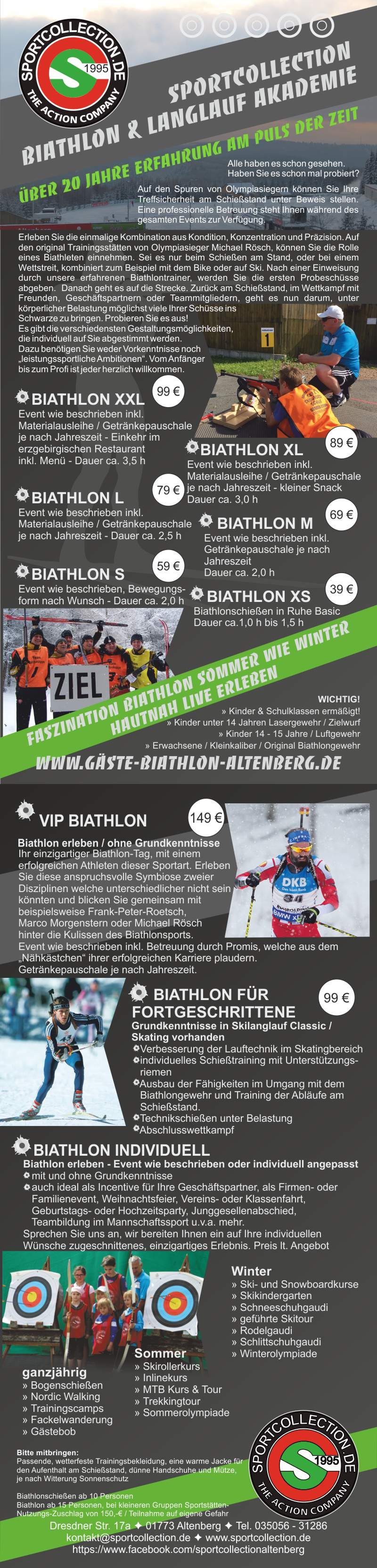 Biathlon mit sportcollection