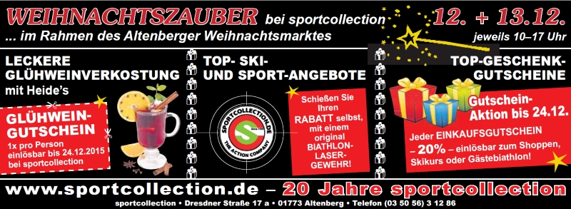 20 Jahre sportcollection